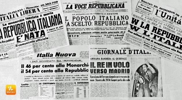 AccaddeOggi   #2giugno 1946 Con Referendum gli Italiani decidono la l'Italia diventa Repubblica