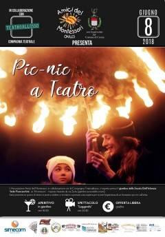 Crema: 8/6 'Pic-nic a teatro' con l'Associazione Amici del Montessori onlus