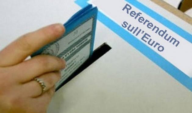 Aduc  Governo. Fraccaro e il referendum sull'euro. Italia ridotta in povertà