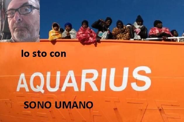 Io sto con Acquarius Siamo Umani  . Ribelliamoci ai due ministri Salvini e Toninelli di Gian Carlo Storti