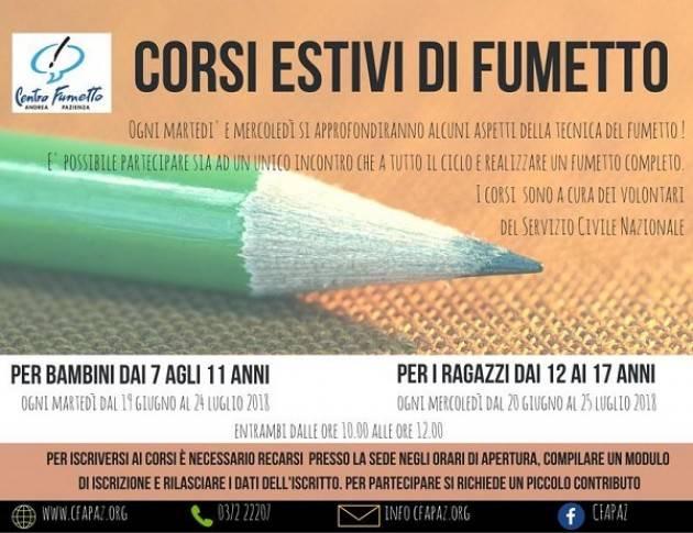 Cremona: orari e corsi estivi del Centro Fumetto