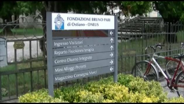 (Video) La Fondazione Bruno Pari di Ostiano si presenta. Interviste al Sig. Coppola Marco, al Dott. Quattrone Antonio ed al  Dott. Scaratti Ivan