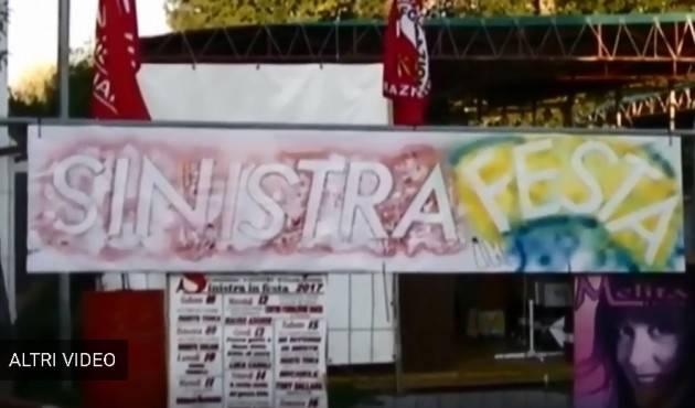 Sinistra in festa a Gussola stasera lunedì 16 luglio  grande chiusura