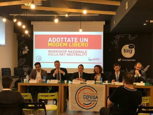 Tecno Modem Libero: Grande successo per il II Workshop Nazionale sulla Net Neutrality