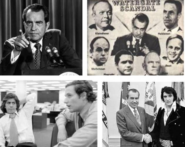 AccaddeOggi  #17giugno 1972-Scandalo Watergate: funzionari Casa Bianca  arrestati per aver scassinato gli uffici del Partito Democratico USA