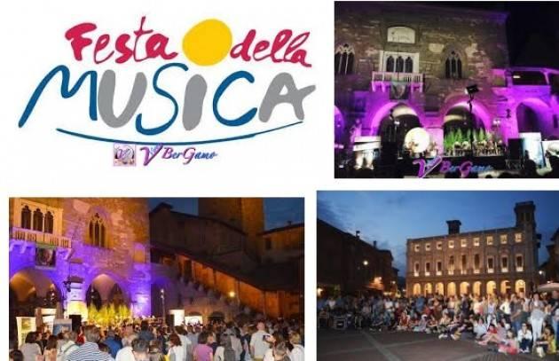 Bergamo Il 21 giugno la città si anima per la 'Festa Europea della Musica'