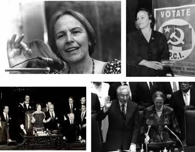 AccaddeOggi    #20giugno 1979 –Nilde Iotti, prima donna in Italia,viene eletta Presidente della Camera