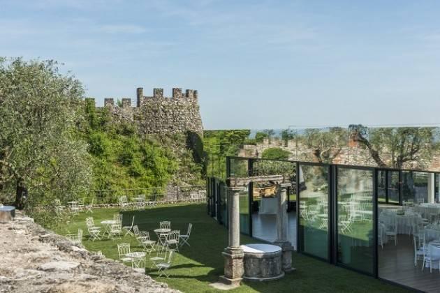 Si è conclusa la costruzione del nuovo padiglione eventi nella Rocca di di Lonato del Garda