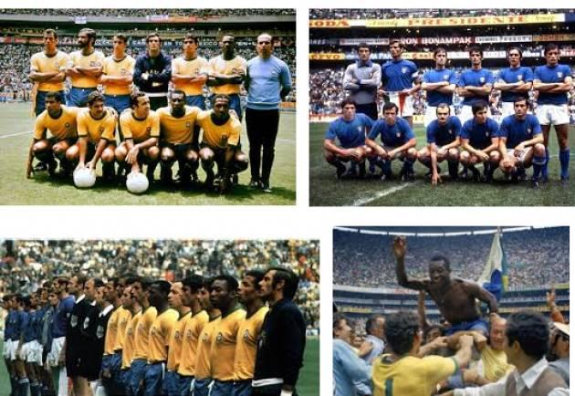AccaddeOggi     #21giugno 1970 – A Città del Messico il Brasile conquista il terzo titolo mondiale battendo in finale l'Italia per 4-1