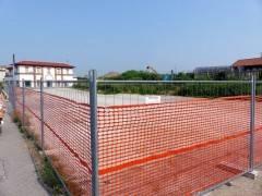 Chiuso il parcheggio ex Aci: recinzioni in via Stazione per piastra  e rotatoria di 'Crema 2020'