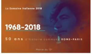 A PARIGI LA SEMAINE ITALIENNE 2018 dal 22 giugno al 3 luglio