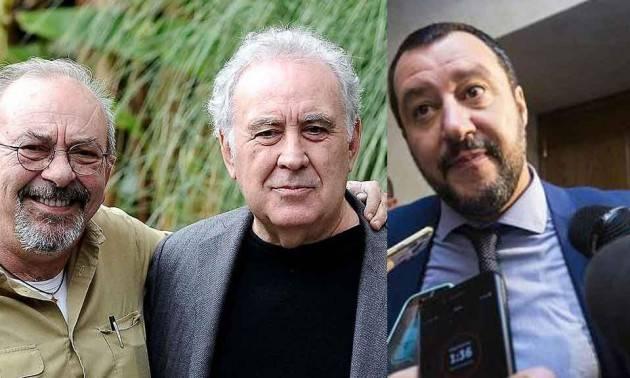 Vauro e Santoro:' Si richiami Salvini ad un comportamento Costituzionale' di Gian Carlo Storti