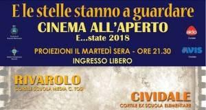 E le stelle stanno a guardare..Cinema estivo a Rivarolo Mantovano