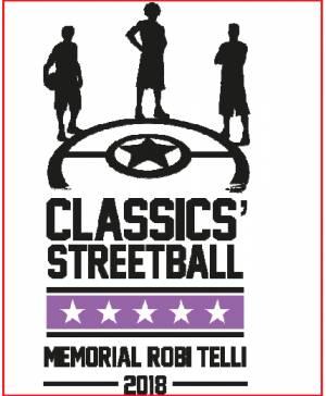 Cremona 3vs3 CLASSICS' STREETBALL MEMORIAL ROBI TELLI 2018 dal 29 giugno al 1 luglio