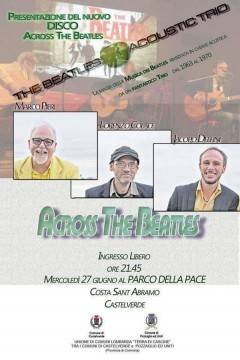 Costa S. Abramo: mercoledì 27/6 'The beatles acoustic trio' in concerto