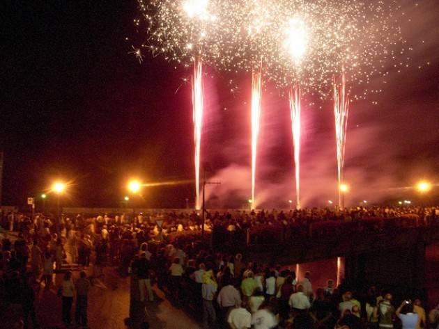 San Pietro a Pizzighettone 2018: 36° grande spettacolo pirotecnico sull'Adda