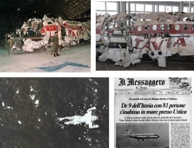 AccaddeOggi  #27 giugno 1980 Il DC9 I-TIGI Itavia  esplode nei cieli a nord di Ustica, 81 le vittime, di cui 13 bambini