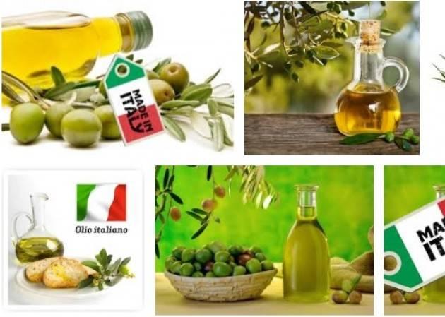 Coldiretti CONSUMI: ACCORDO RECORD PER 10 MLN DI KG DI OLIO MADE IN ITALY