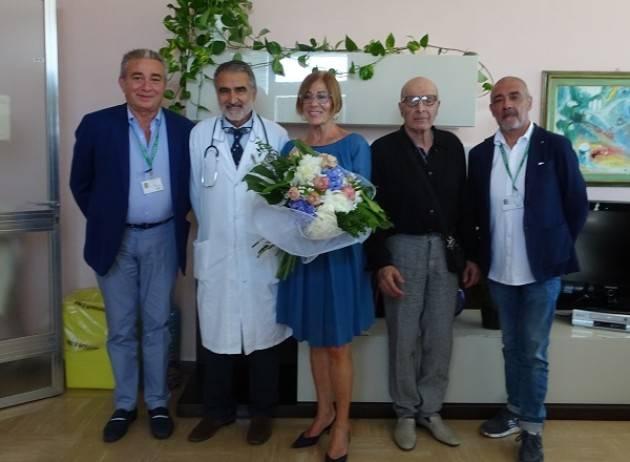 ASST Ospedale di Cremona Una donazione all'Oncologia in ricordo di Lorenzo Massa