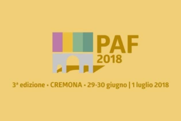 Cremona Porte Aperte Festival 2018  29 e 30 giugno e 1 luglio Iniziativa
