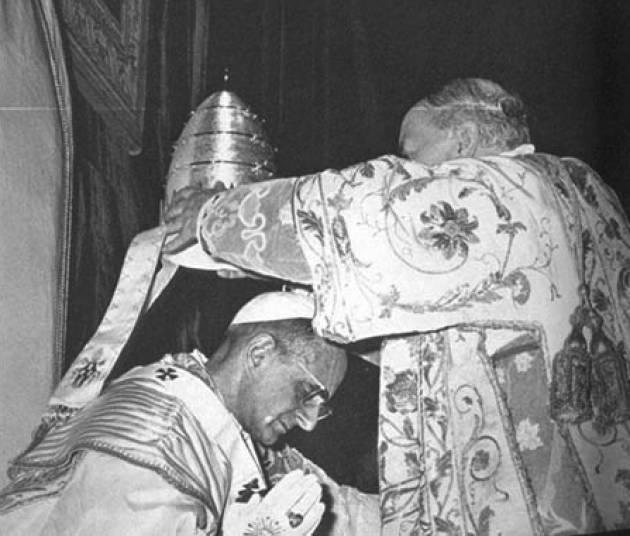 AccaddeOggi  #30giugno Papa Paolo VI è l'ultimo pontefice ad essere incoronato con la tiara