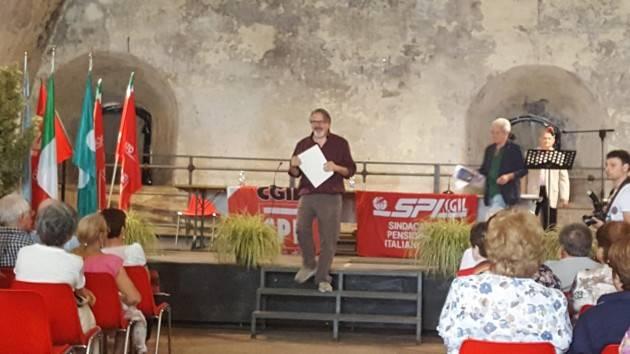Pizzighettone : finale dei giochi di Liberetà dello Spi-Cgil di Cremona