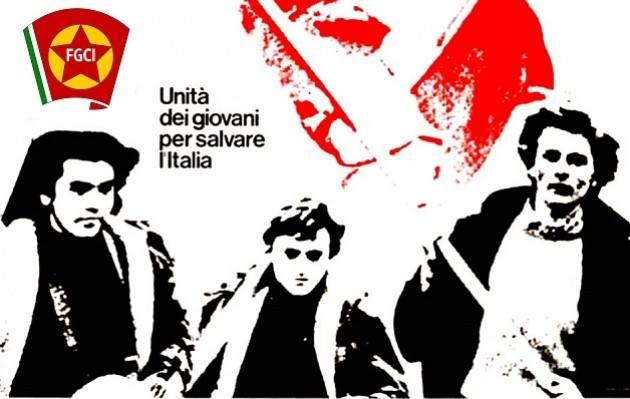 Gli ex della FGCI (Federazione Giovanile Comunista Italiana) a cena a Gussola il prossimo Mercoledì 11 luglio alle ore 19 durante 'Sinistra in Festa'