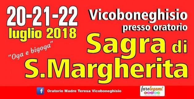 Sagra Santa Margherita 2018: 3 giorni di eventi e buona cucina