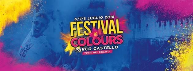 Festival of colours: il weekend si colora a Torri del Benaco