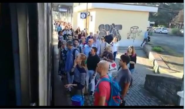(Video) Altro grave problema lungo la tratta ferroviaria Cremona-Treviglio