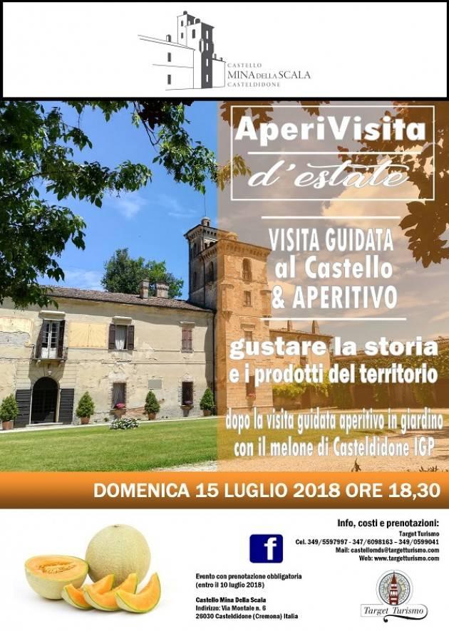 Casteldidone AperiVisita estivo al Castello Mina Della Scala il 15 luglio