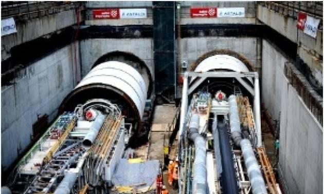 Milano M4 Partita la prima talpa per la tratta ovest: al via la costruzione delle gallerie da S.Cristoforo a Solari