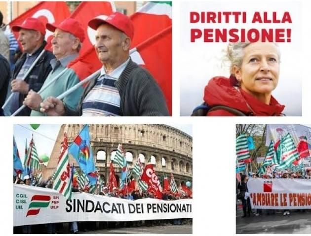 Spi Cgil, Fnp Cisl e Uilp Uil Previdenza Pensioni: sindacati, governo si fermi