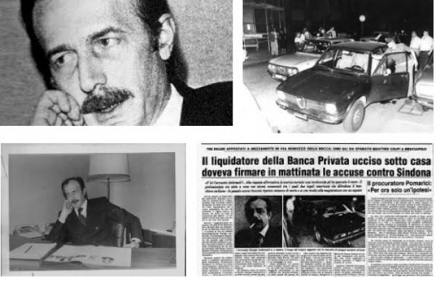 AccaddeOggi    #11luglio 1979 Milano: Giorgio Ambrosoli  viene assassinato mentre rientra a casa