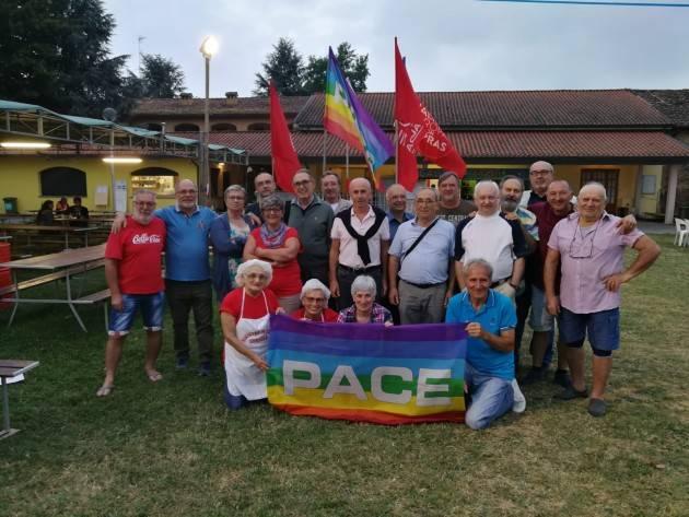 (Video) Gussola a Sinistra in Festa molti i compagni che si ritrovano alla cena della ex FGCI. Sante Gerelli soddisfatto
