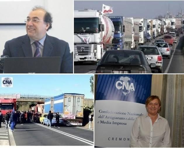 CNA ANCHE L'AUTOTRASPORTO CREMONESE ANDRA' VERSO IL FERMO TOTALE DEI SERVIZI DAL 6 AL 9 AGOSTO!