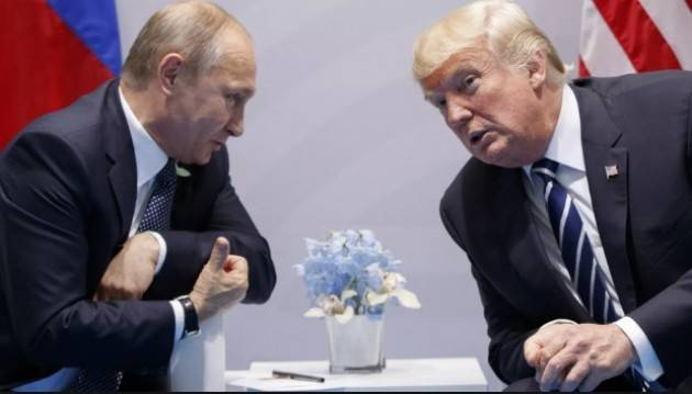 Amnesty INCONTRO PUTIN-TRUMP : DIMOSTRINO CHE RUSSIA E USA SONO DUE ATTORI INTERNAZIONALI RESPONSABILI