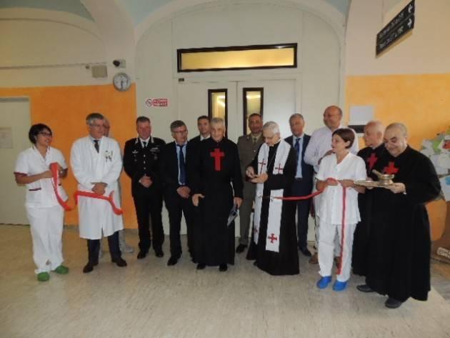 Cremona Festa di San Camillo, inaugurata il riqualificato reparto Cure palliative con il vescovo Lafranconi