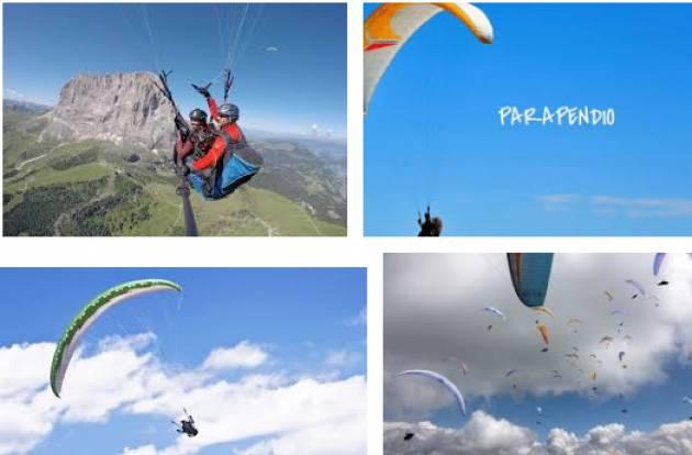 La squadra nazionale di volo libero in parapendio  ai  Campionati Europei che si terranno a Montalegre dal 16 al 28 luglio