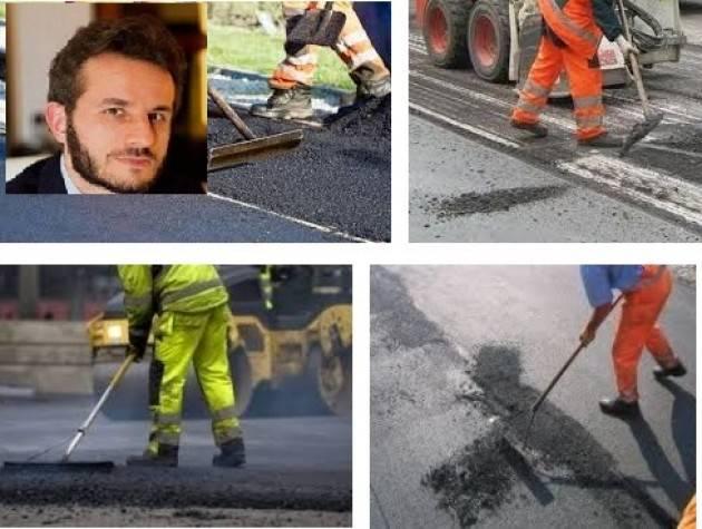Marco Degli Angeli  (M5S) Dalla manutenzione strade provinciali la Lombardia taglia 27mil di euro