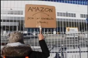 Europa Amazon, tensione a Madrid: è 'huelga' nel prime day