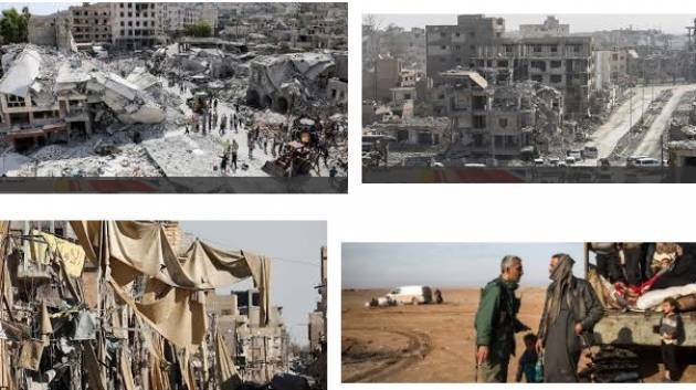 Amnesty SIRIA: LA COALIZIONE A GUIDA USA  NEGA VITTIME CIVILI A  RAQQA