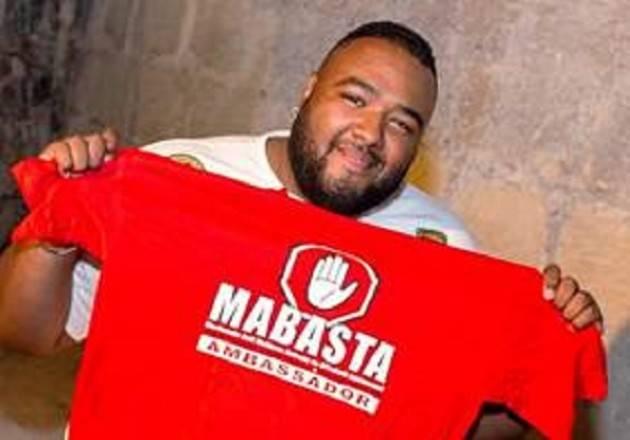 Anche Sergio 'Big Boy' Sylvestre è con Mabasta contro bullismo e cyberbullismo