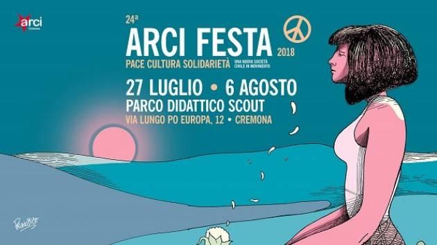 24^ Arci Festa 2018: dal 27 luglio al 6 agosto al Parco Didattico Scout