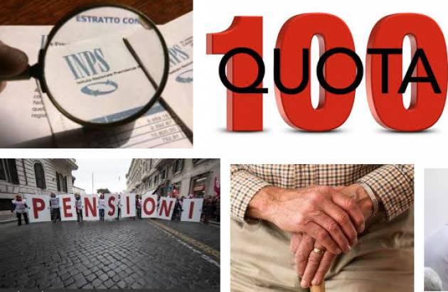 Cgil Previdenza Pensioni, siamo di nuovo alla propaganda