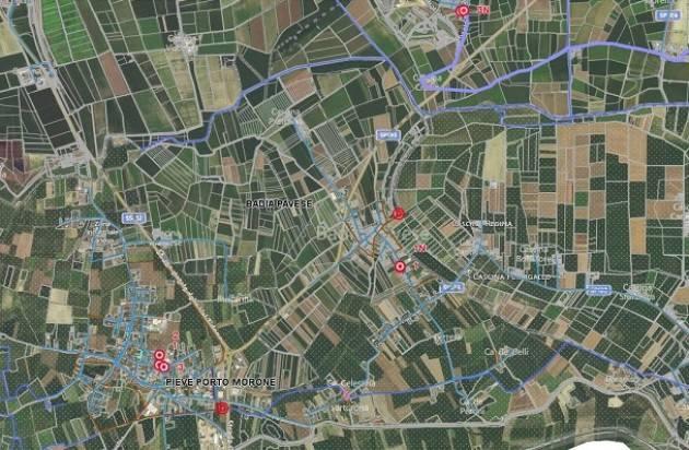 Pavia AL VIA LA MAPPATURA DELLA RETE FOGNARIA DI 21 COMUNI DEL PAVESE