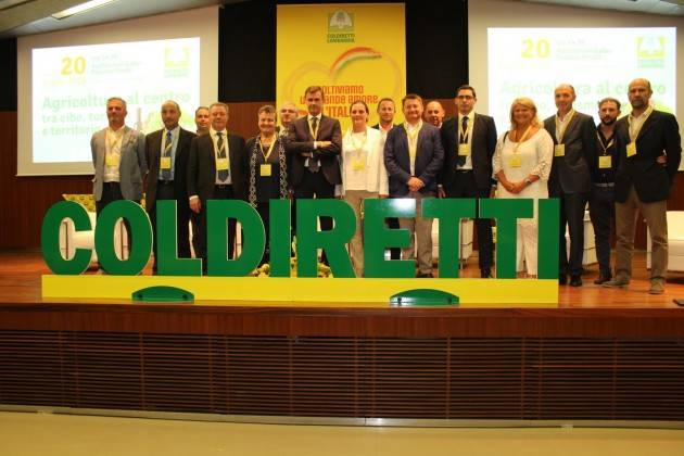 Prandini confermato Presidente della Coldiretti in Lombardia