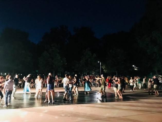 Cremona  Tappa a S. Felice per la rassegna Ballando Ballando il 24 luglio