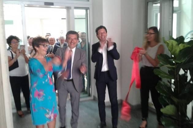 L'intervento di Gianmaria Casella all'inaugurazione nuova sede CSAMED - Net4Market in palazzo Fodri di Cremona
