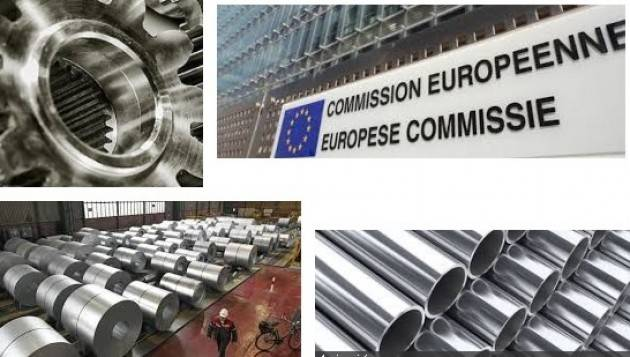 AISE L'UE APPROVA MISURE DI SALVAGUARDIA PROVVISORIE SULLE IMPORTAZIONI DI PRODOTTI DI ACCIAIO